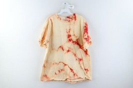 Vintage Streetwear Mens Size XL Distressed Acid Wash Short Sleeve Shirt ... - $34.60