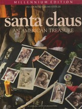 """Hard Covered Book - """"Santa Claus"""" -Leisure Arts - Gently Used - $18.00"""