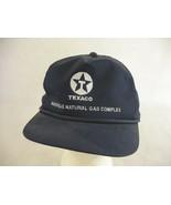 Texaco Maysville Natural Gas Complex Vintage Snapback Trucker Hat Cap - $14.84