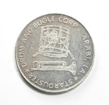Starduster Drum & Bugle Corp Arabi LA Aluminum Token 32mm Buck for Truck - $19.79