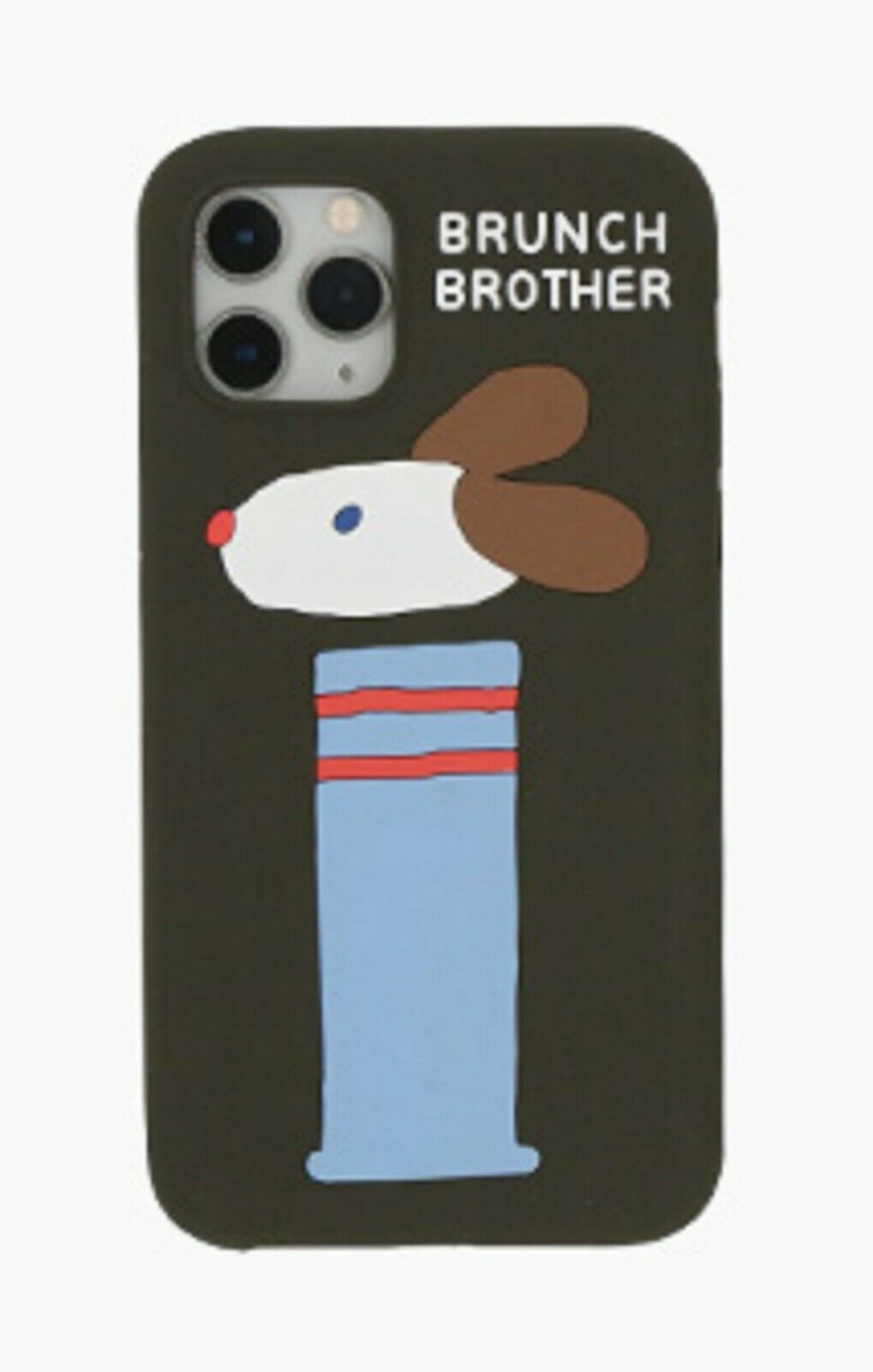 Brunch Brother Dog iPhone 11 Pro Slim Silicone Case Cover Protector Accessory
