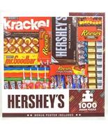 Master Pieces HERSHEYS 1000 Piece Jigsaw Puzzle NEW Sealed Krackel Reese... - $29.44