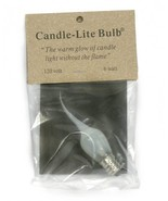 Brand New Silicone Dipped Light Bulbs,6 Watts For Electric Candelabras/F... - $3.95