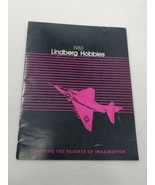 VTG 1988 Lindberg Catalog plastic Model Kits 19 color pages (A16) - $14.85