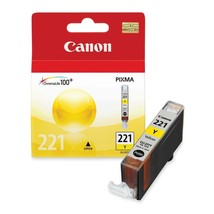 Canon CLI-221Y Yellow Ink GENUINE OEM sealed  - $12.61