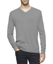 Calvin Klein Men's V-Neck Sweater, Axis Heather, 2X-Large - $53.99