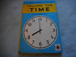1962  Ladybird Book Telling The Time Series 563 - $7.58