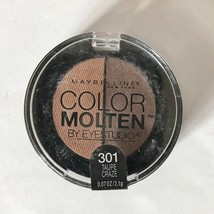 Maybelline New York Color Molten Eye Studio Shadow .07 Oz Taupe Craze 301 - $4.84