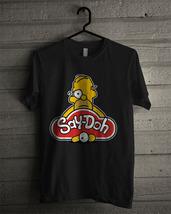 Men's T-shirt Say Doh New Black T-shirt - £13.78 GBP