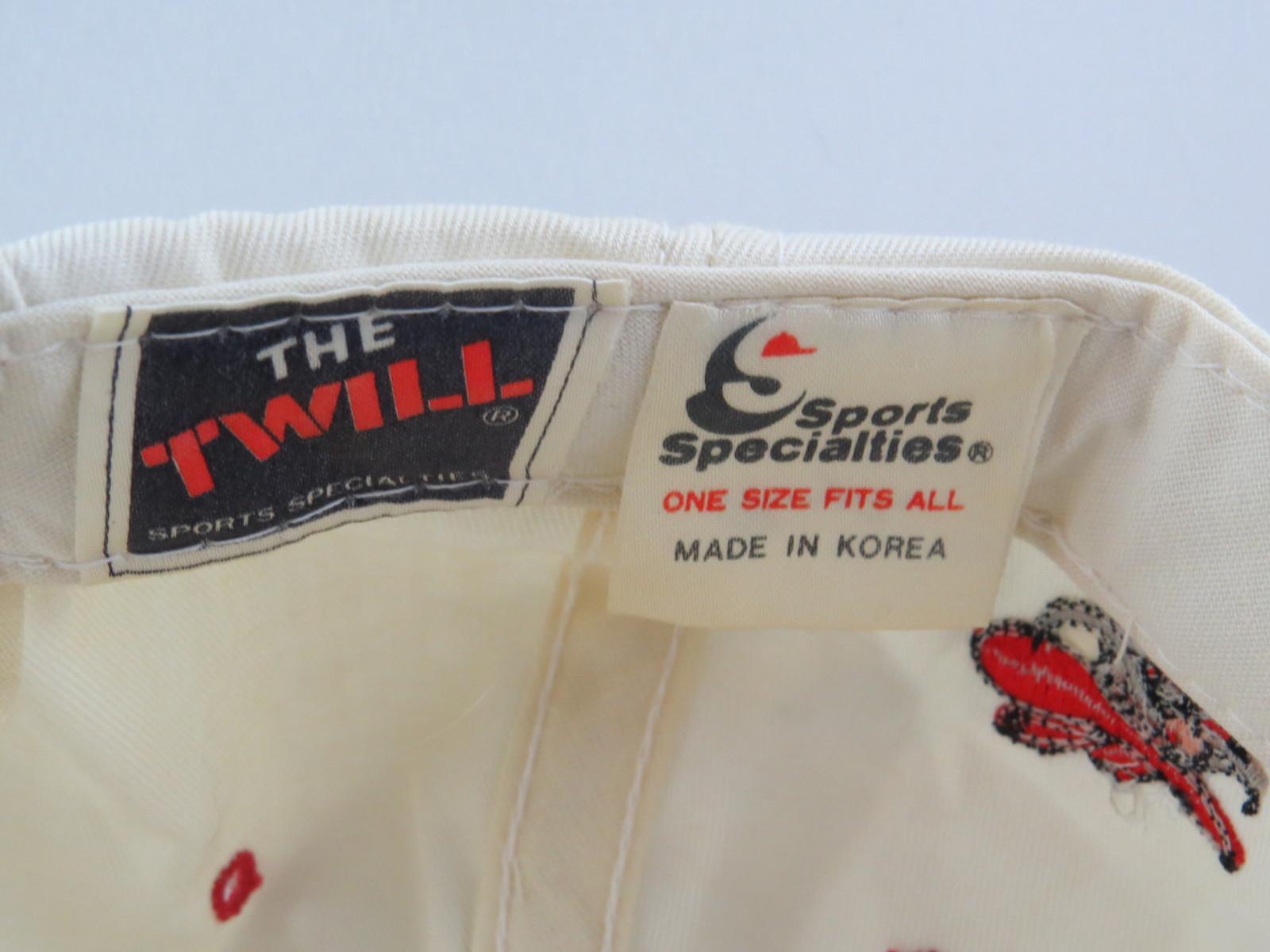 UNLV Running Rebels Hat (VTG) - Twill Script Sports Specialties - Adult Snapback