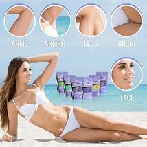 Hard Wax Beans Kit [6 Bags + Pre & After Spray] Hard Wax Beads Hair Removal - Wa image 8