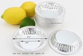 "4½"" Disposable Aluminum Tart or Pie Pan #450 500 - $71.32"