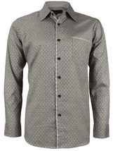 LW Men's Western Button Up Long Sleeve Designer Dress Shirt image 11