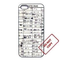 Vintage Library Card Motorola Moto G 2nd case Customized Premium plastic... - $11.87
