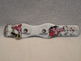 Flintstones 1974 Vogue Vinyl Child's Size Wrist Watch Band Unused - Whit... - $11.95