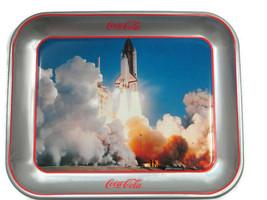 Coca-Cola Tray Space Shuttle Challenger 18th Annual Coca-Cola Collectors... - $44.55