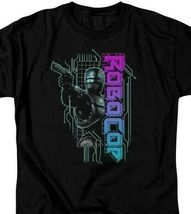 RoboCop Retro 80's action cyborg crime movie Detroit graphic t-shirt MGM395 image 3