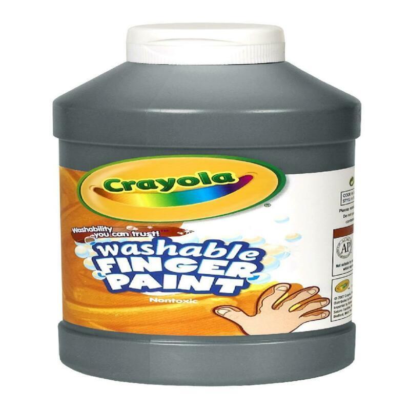 Crayola Washable Fingerpaint, 16 Oz Bottle, Black, Child, 1 Count - $18.72