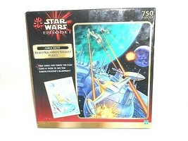 Star Wars Episode 1-Force Facts-Bravo Squadron Assault 2 Sided 750 Pc Puzzle NEW - $19.79