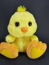 "Yellow Chick Duck Big Feet Eyes Plush Stuffed Easter 10"" Soft Aurora Pin... - $13.36"