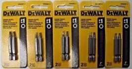 """Dewalt DWA2SQ1-2 #1 Square x 2"""" Recess Power Drive Screw Bits (5 Packs o... - $3.71"""