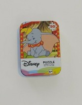 """Disney's DUMBO Jigsaw Puzzle In Collector's Tin, Age 6+, 5"""" X 7"""", 50 Pie... - $4.99"""