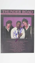 "Clarence Clemons (d. 2011) Signed Autographed Complete ""Thunder Road"" Ma... - $49.99"