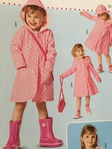 # Burda Sewing Pattern 9458 Toddler Girls Coat Jacket Size 2-6 New - $11.18
