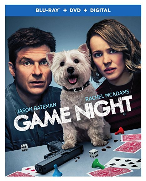 Game Night [Blu-ray+DVD+Digital, 2018]