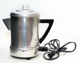 Vintage Vic Aluminum Ware Canada 4 Cup Electric Percolator Coffee Pot - $19.31