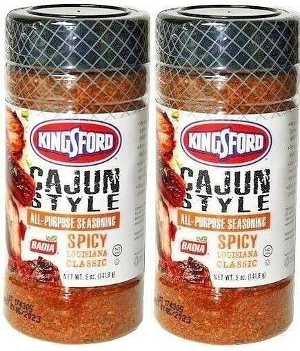 Primary image for (2) Kingsford Cajun Style All Purpose Seasoning Meat Pork Spicy Louisiana 5 Oz