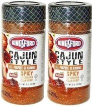(2) Kingsford Cajun Style All Purpose Seasoning Meat Pork Spicy Louisian... - $19.79