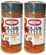 (2) Kingsford Cajun Style All Purpose Seasoning Meat Pork Spicy Louisian... - £14.30 GBP