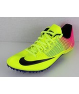 Nike women's zoom clear flywire yellow neon pink racing sprint - $47.34