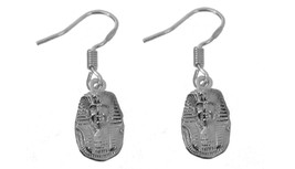 NICE Sterling silver 925 most powerful person Ancient Egypt Pharaoh Earr... - $23.70