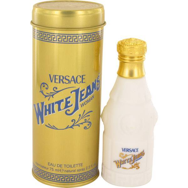 Aaversace white jeans perfume