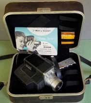 Director Series Electric Eye Bell & Howell Zoomatic 8mm Movie Camera & C... - $34.40