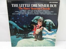 Harry Simeone Chorale Little Drummer Boy LP Record Album Vinyl - $3.95