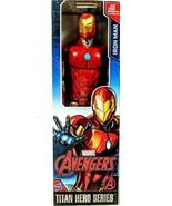 Marvel Avengers Assemble Titan Hero Series Iron Man 12in Figure - $21.33