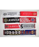 Juventus Scarf Benfica Barcelona Monaco Bayern Munich Football Scarves C... - $18.38+