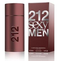 212 Men Carolina Herrera Sexy for Men Eau de Toilette 3.3oz Cologne - $80.00