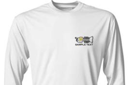 6 Personalized Custom Front & Back Printed Dri Fit Longsleeve Fishing Sun Shirt image 2