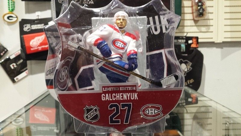 "Primary image for 2017-18 NHL Montreal Canadiens Alex Galchenyuk 6"" Figure by Imports Dragon"