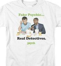 Fake Psychics Real Detectives T-shirt Psych TV series graphic tee NBC912 image 3