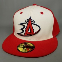 Los Angeles Angels x Anaheim Ducks New Era 59FIFTY Fitted Hat Size 7 5/8... - $93.49