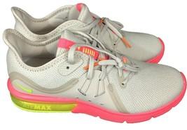 Nike da Donna Air Max Sequent 3 908993-018 Taglie 8.5 Ossa Volt Boxe Cor... - $118.26