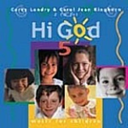 Hi god vol 5 songbook by carey landry