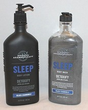 Bath & Body Works Aromatherapy Black Chamomile SLEEP with body wash and ... - $54.71
