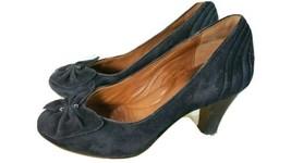 Clark's Artisan Black Suede Pump Heels Women's Size 5  - $16.81