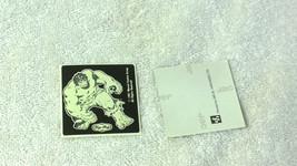 New Zealand Tip Top Ice Cream 1991 Incredible Hulk Glow Dark 1-Sticker M... - $9.74